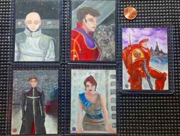 Burning Empires Art Cards