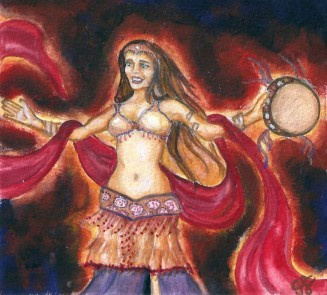 Fire Dancer by Gretchen Burneko