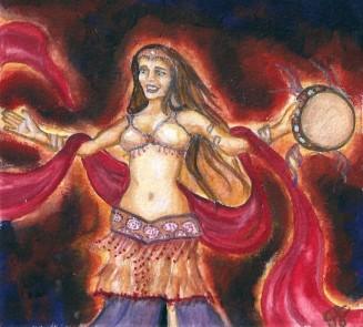 Fire Dancer by Gretchen Burneko