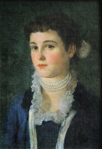 Bildnis Clara Klimt 1883